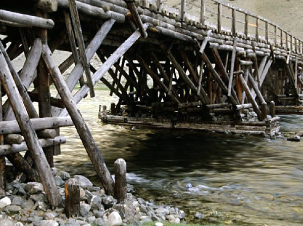 Mongolian bridge