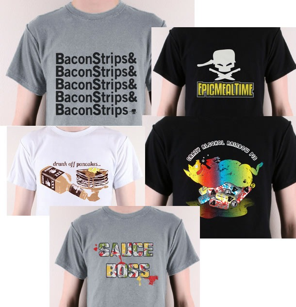 epic meal time shirts
