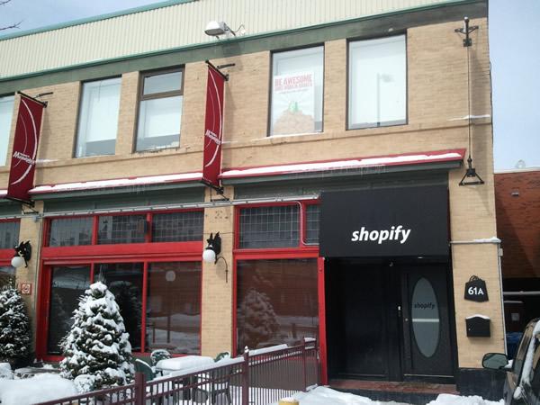 Shopify in winter
