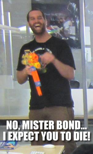 NO MISTER BOND