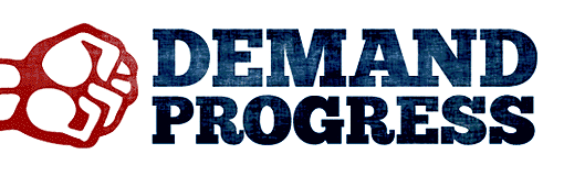 Demand Progress logo.