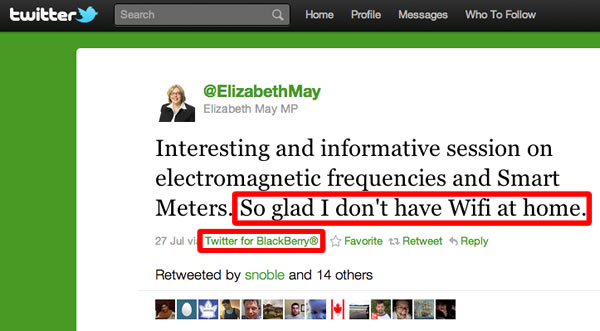 Elizabeth may tweet