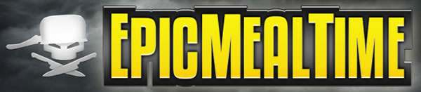 Epic Meal Time logo.