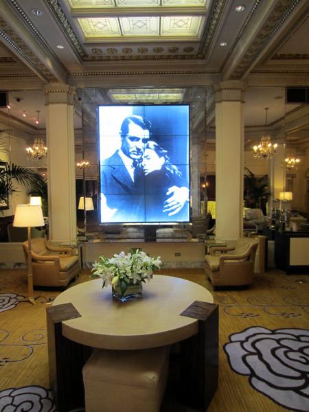 Hotel deluxe lobby