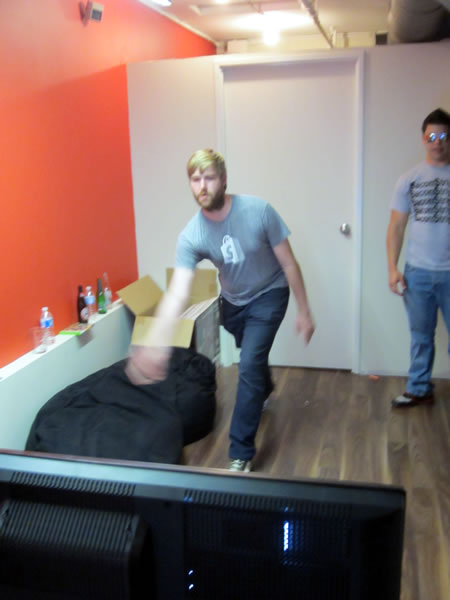 Kinect bowling 1