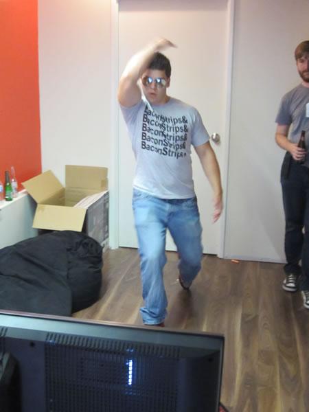 Kinect bowling 2