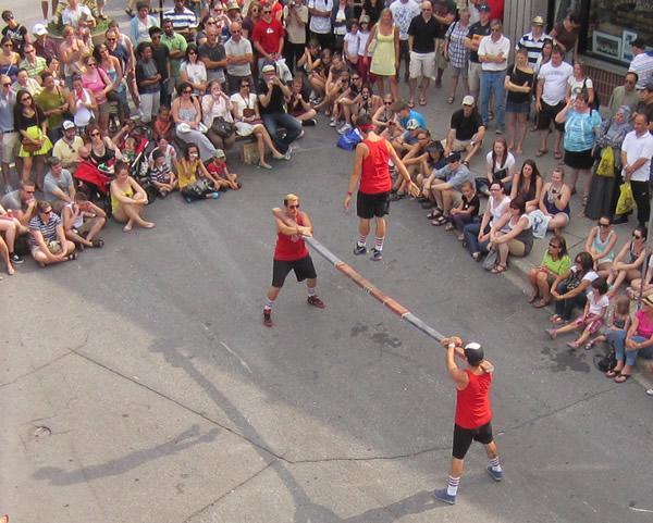 Stunt double circus 1