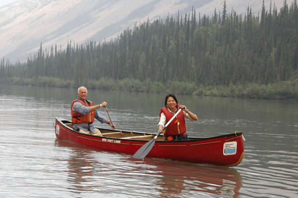 Jakc layton olivia chow canoe