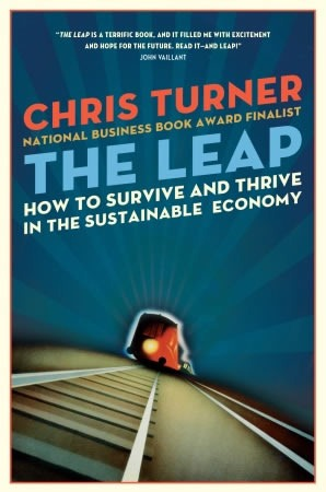 "Cover of ""The Leap"" by Chris Turner"