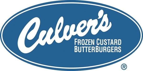 """Culver's logo: """"Culvers / Frozen Custard / Butterburgers"""""""