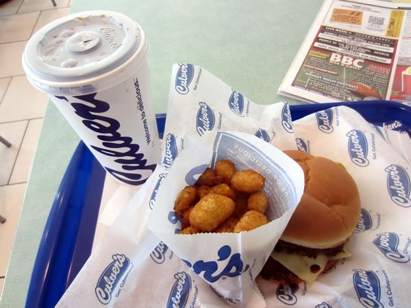 Diet Coke, deep-fried cheese curds, ButterBurger
