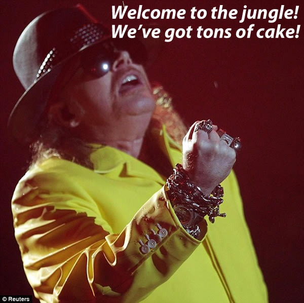"""Axl Rose: From """"Appetite for Destruction"""" to """"Appetite for ..."""