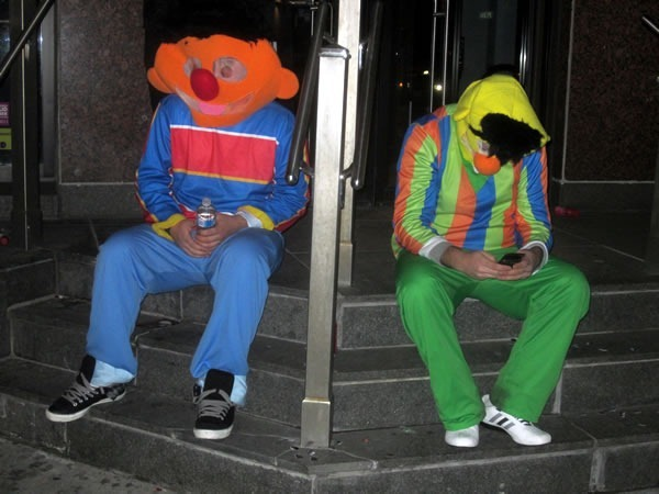 bert and ernie break up