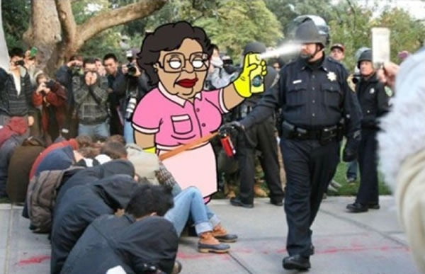 pepper spray meet lemon pledge
