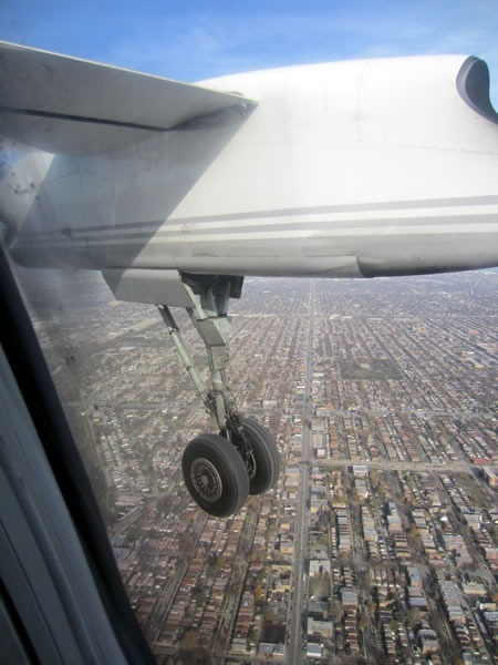 landing at midway