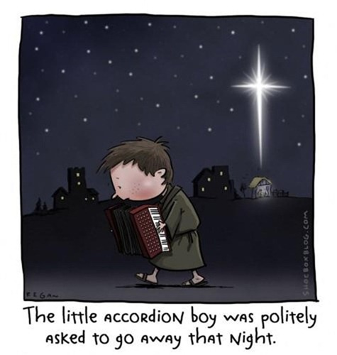 little accordion boy