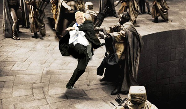 rob ford this is sparta