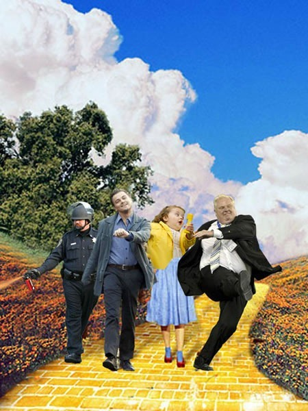 super rob ford wizard of oz remix