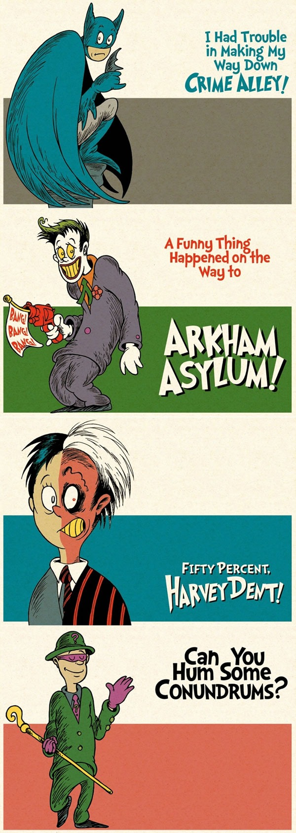 dr seuss batman