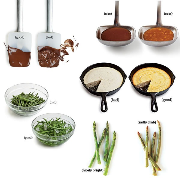 common cooking mistakes