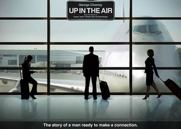 "Poster for the film ""Up in the Air"""