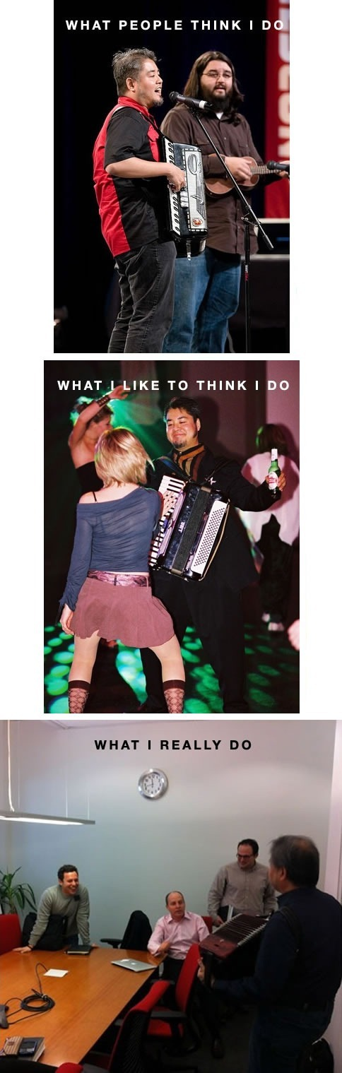 what people think accordion guy does 2