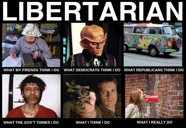 what people think libertarians do