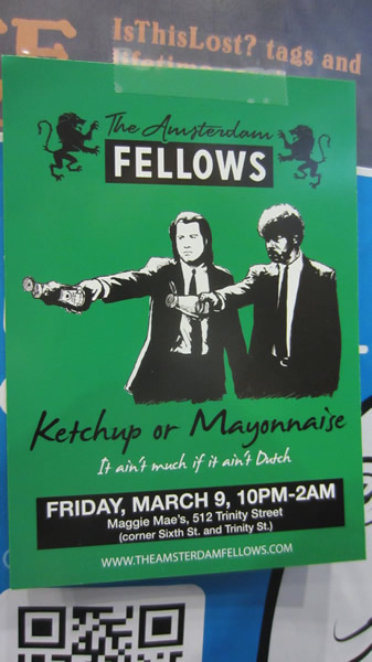 """Poster: """"The Amsterdam Fellows"""""""