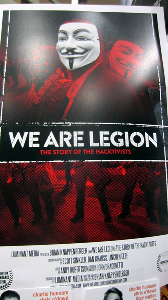 "Poster: ""We are Legion"""