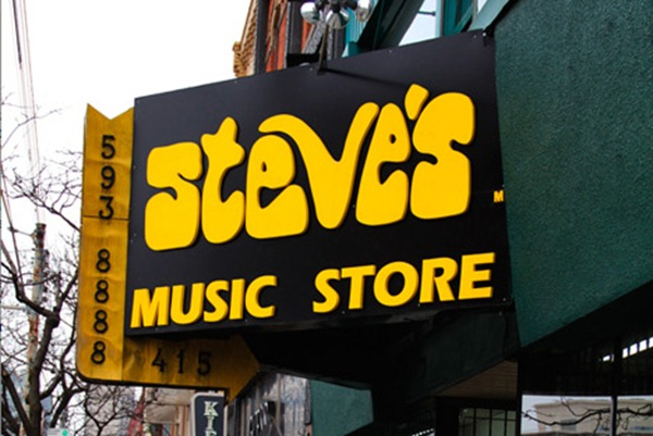 steves music store