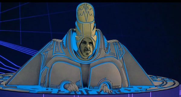 "I/O Tower Guardian from the original ""Tron"""