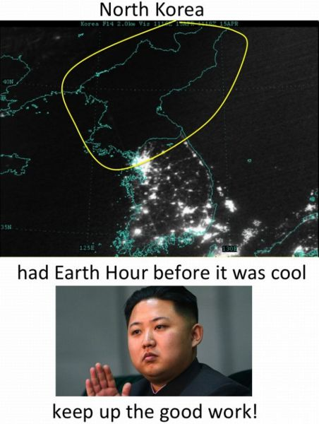 """North Korea Had """"Earth Hour"""" Before it was Cool - The ..."""