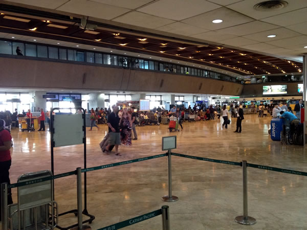 Terminal 1 lobby at Ninoy Aquino International Airport