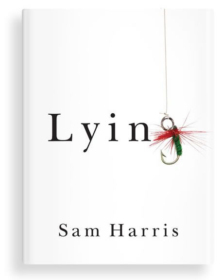 "Cover of Sam Harris' book, ""Lying"""