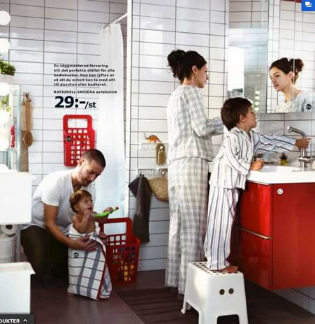 Ikeas Saudi Arabian Catalog Is A Total Sausage Party