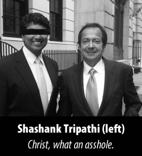 Shashank Tripathi - Christ, what an asshole