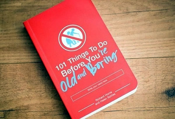 """Photo of the book """"101 Things to Do Before You're Old and Boring"""""""