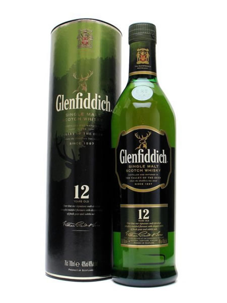 Bottle of Glenfiddich