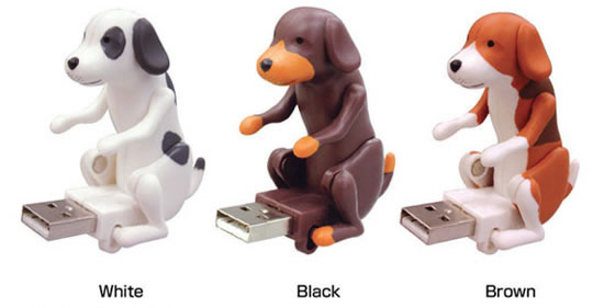Humping dog USB keys
