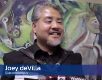 Still of the Ford TechCrunch video featuring Joey deVilla