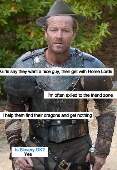 nice guy ser jorah