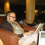 Cory Doctorow, in the zone!