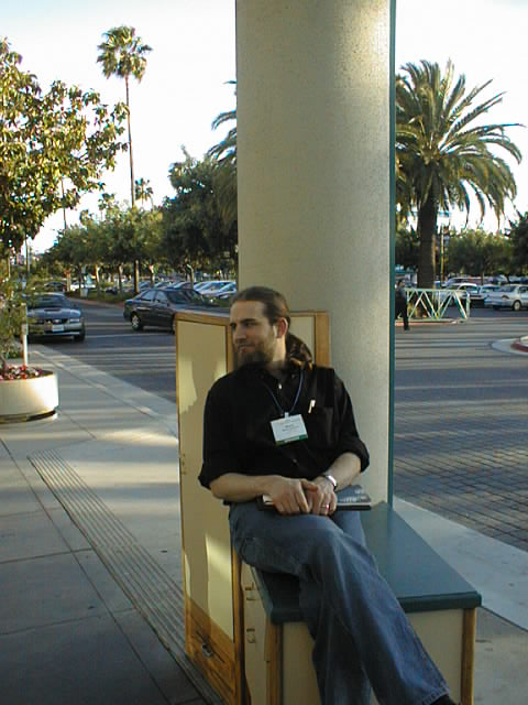 Zooko O'Wheilacronx, ETCon, May 2002