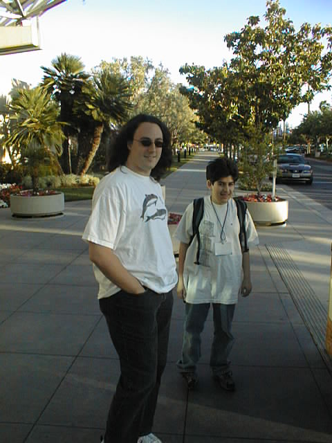 Wes Felter and Aaron Swartz, ETCon, May 2002