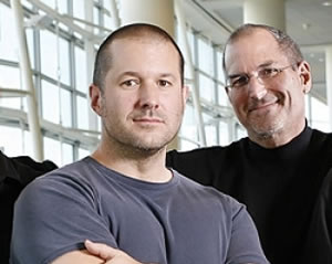 Photo: Jony Ive and Steve Jobs