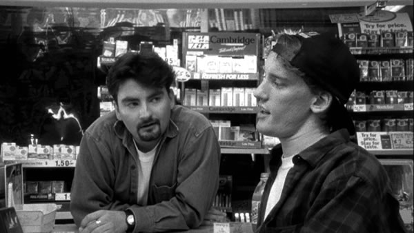 "Photo: Dante and Randall from the film  ""Clerks"""