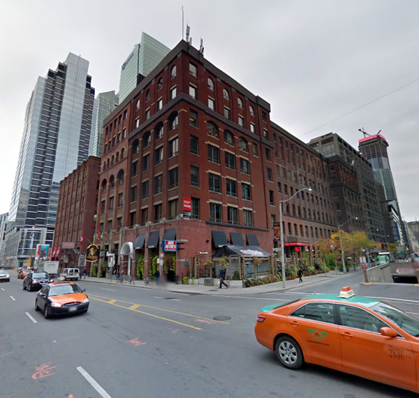 Photo: Northwest corner of University Avenue and front Street, Toronto