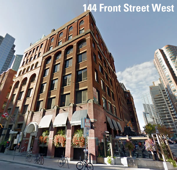 144 front street west