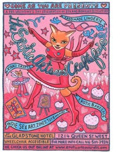 erotic arts and crafts fair
