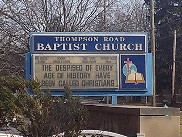 butthurt church sign